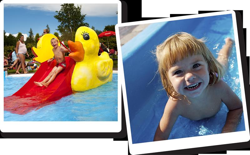 I Barnens Gårds Vattenland finns pooler för både stora och små.